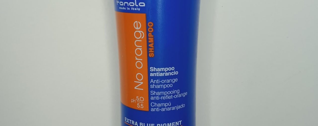 Shampoing anti-reflet orange