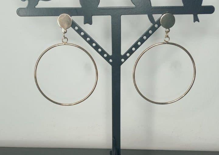 Boucle d'oreille anneaux