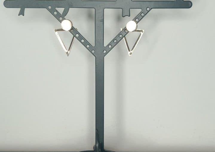 Boucle triangle inversé